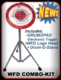 DRUM-O-PAD, WFD Head & Drum-O-Stand! Best Buy!