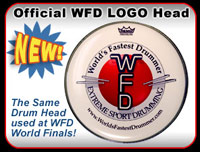 Official WFD Logo Drum-head